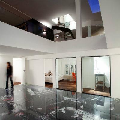 Les anciens bureaux de Paco Rabanne réaménagés en loft de 650 m2 / Paris VI - Architecte dplg paris