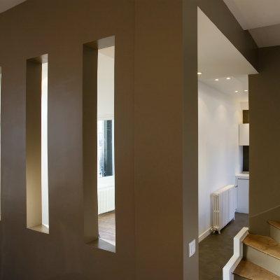Une maison en banlieue proche de Paris transformée et agrandie / Ile de france - Architecte dplg paris