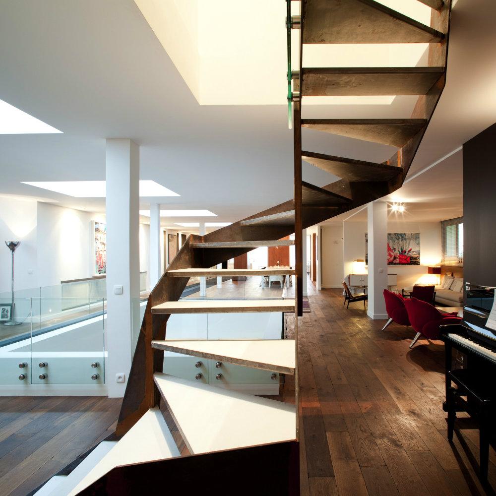 Escaliers - Architecte dplg paris
