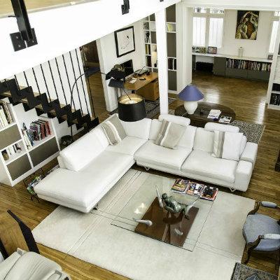 Un appartement familial de 220m2 transformé pour plus d'espaces de réception / Paris XVI - Architecte dplg paris